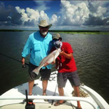 Sea to Sky Outfitters South Louisiana Fishing guide Captain Orin Lonadier