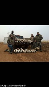 duck and goose hunting lubbock