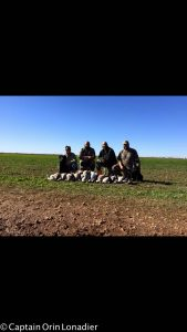 Texas goose hunts