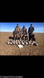 Texas Panhandle goose hunting