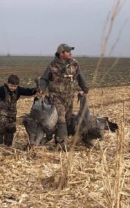 crean, geese, ducks, west Texas goose hunting, Plainview, Texas